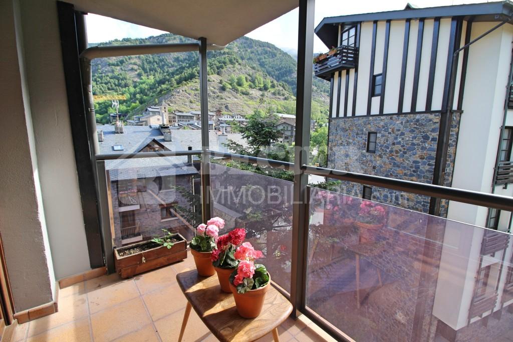 Àtic de lloguer a Ordino, 3 habitacions, 70 metres