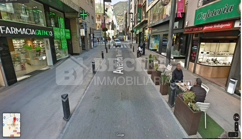 Despatx de lloguer a Andorra la Vella, 20 metres