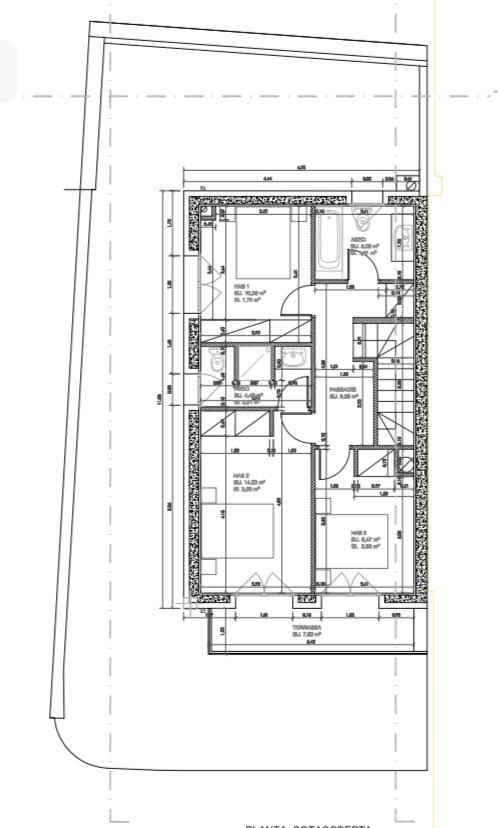 Casa adossada en venda a Els Cortals, 3 habitacions, 556 metres