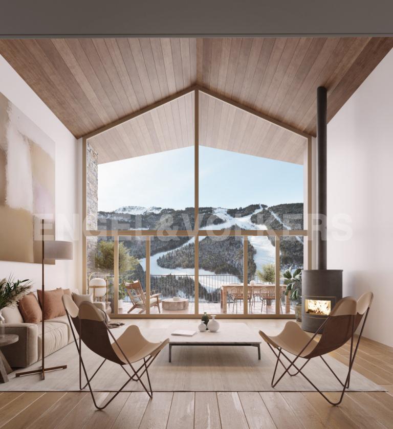 Xalet en venda a El Tarter, 4 habitacions, 581 metres